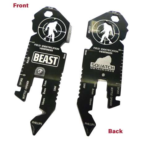 Bigfoot Novelty Gifts :BEAST (Bigfoot Expedition and Survival Tool)