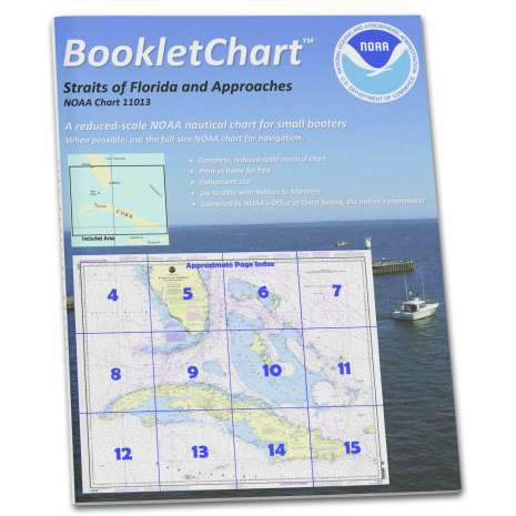 Gulf Coast Charts :NOAA Booklet Chart 11013: Straits of Florida and Approaches