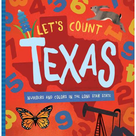 Board Books :Let's Count Texas
