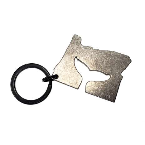 Oregon :Oregon Whale Tail KEYCHAIN