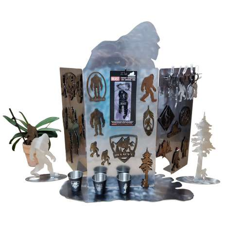 Bigfoot Metal Art :Squatch Metalworks Package Special WASHINGTON (WHOLESALE ONLY) 23719