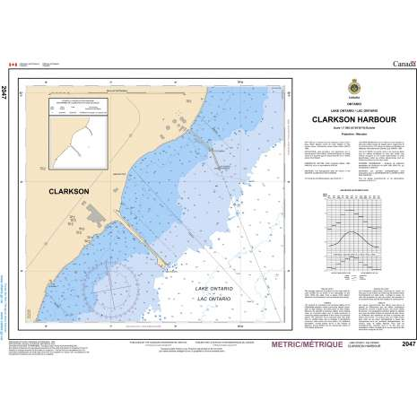 Central and Arctic Region Charts :CHS Chart 2047: Clarkson Harbour