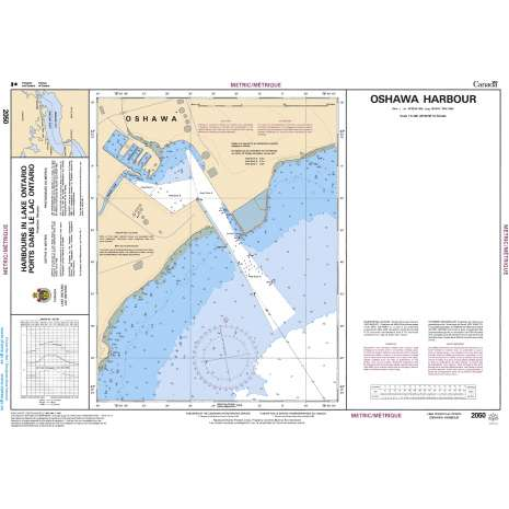 Central and Arctic Region Charts :CHS Chart 2050: Oshawa Harbour