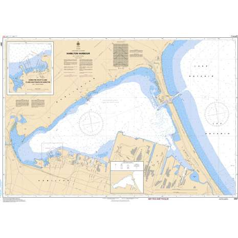 Central and Arctic Region Charts :CHS Chart 2067: Hamilton Harbour