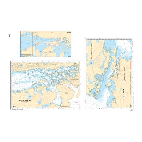 Central and Arctic Region Charts :CHS Chart 2207: Little Current to/à Clapperton Island