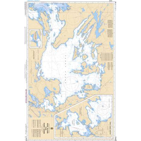 Central and Arctic Region Charts :CHS Chart 2224: Rose Island to/à Parry Sound