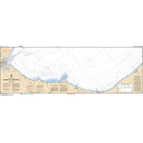 Central and Arctic Region Charts :CHS Chart 2260: Sarnia to/à Bayfield