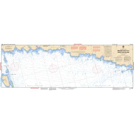 Central and Arctic Region Charts :CHS Chart 2266: Michael's Bay to/à Great Duck Island