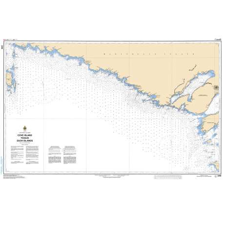 Central and Arctic Region Charts :CHS Chart 2298: Cove Island to Duck Islands