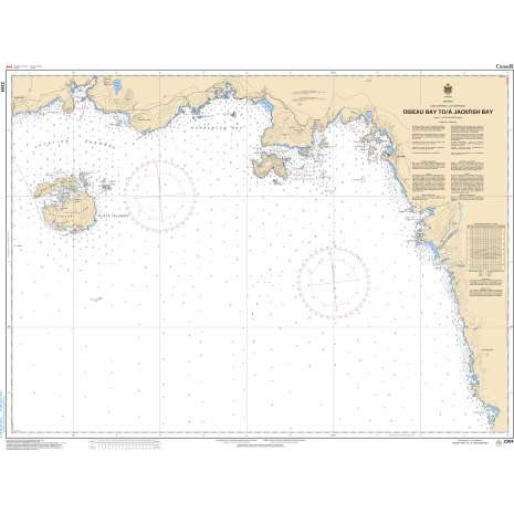 Central and Arctic Region Charts :CHS Chart 2304: Oiseau Bay to/à Jackfish Bay