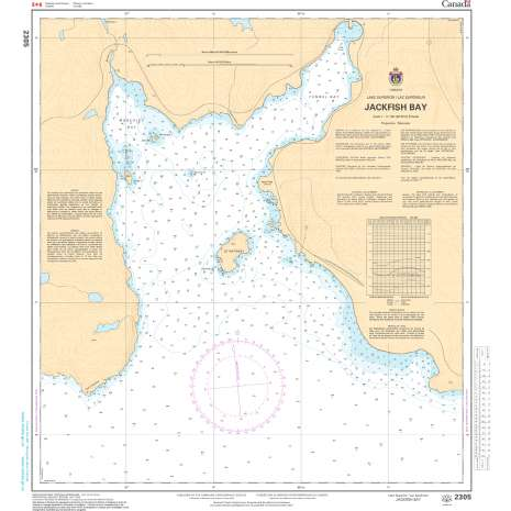 Central and Arctic Region Charts :CHS Chart 2305: Jackfish Bay