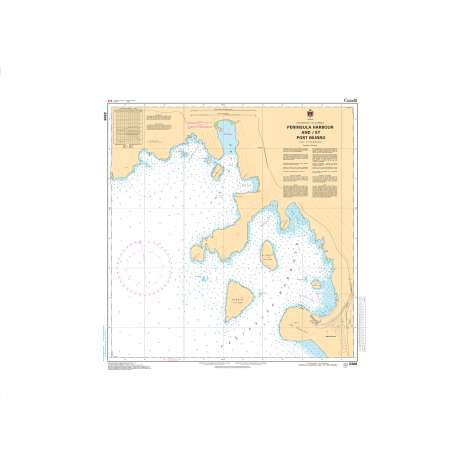 Central and Arctic Region Charts :CHS Chart 2306: Peninsula Harbour and/et Port Munro