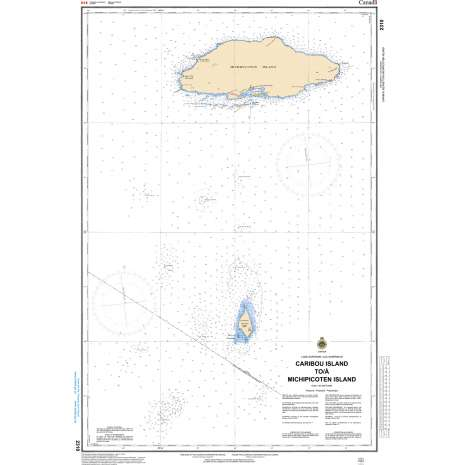 Central and Arctic Region Charts :CHS Chart 2310: Caribou Island to Michipicoten Island