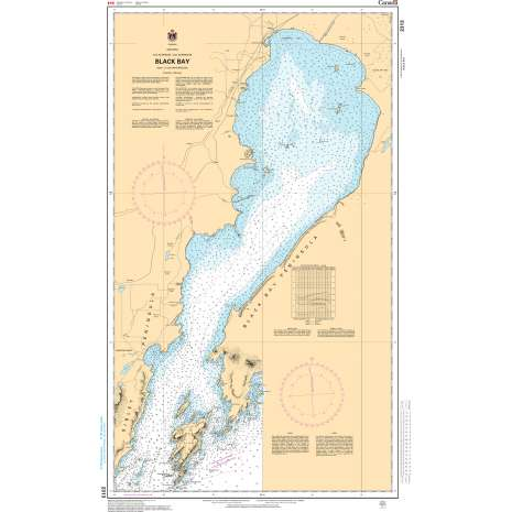 Central and Arctic Region Charts :CHS Chart 2313: Black Bay