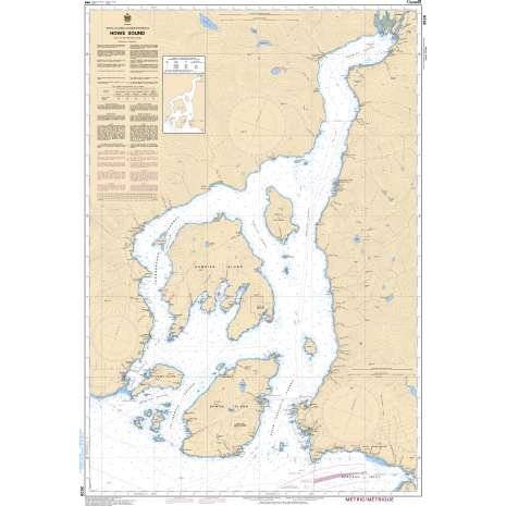 Pacific Region Charts :CHS Chart 3526: Howe Sound