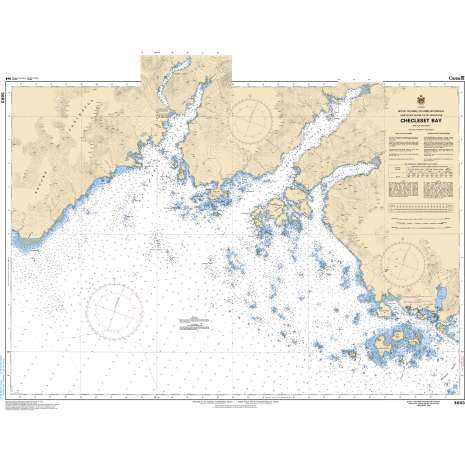 Pacific Region Charts :CHS Chart 3683: Checleset Bay