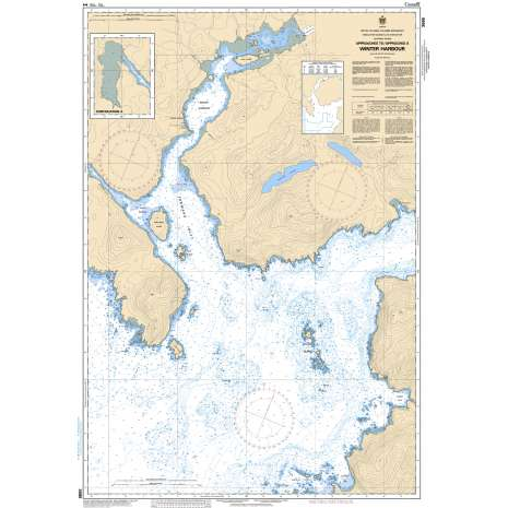 Pacific Region Charts :CHS Chart 3686: Approaches to/Approches à Winter Harbour