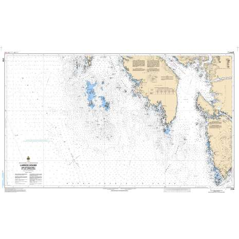 Pacific Region Charts :CHS Chart 3726: Laredo Sound and Approaches