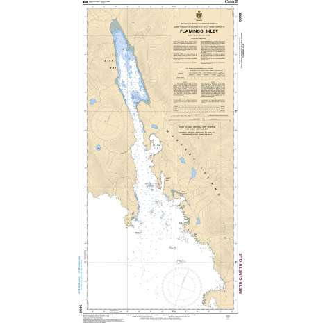 Pacific Region Charts :CHS Chart 3858: Flamingo Inlet