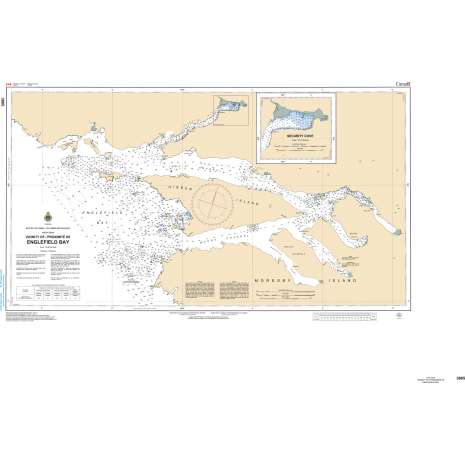 Pacific Region Charts :CHS Chart 3865: Englefield Bay and Vicinity