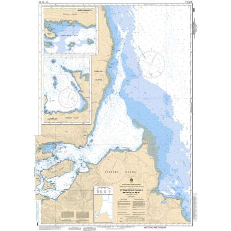 Pacific Region Charts :CHS Chart 3890: Approaches to/Approches à Skidegate Inlet