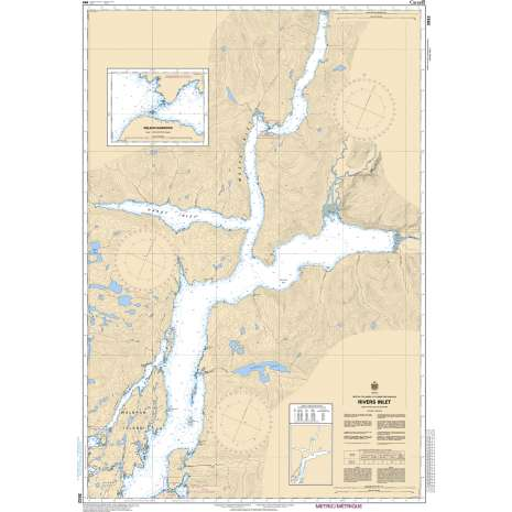 Pacific Region Charts :CHS Chart 3932: Rivers Inlet