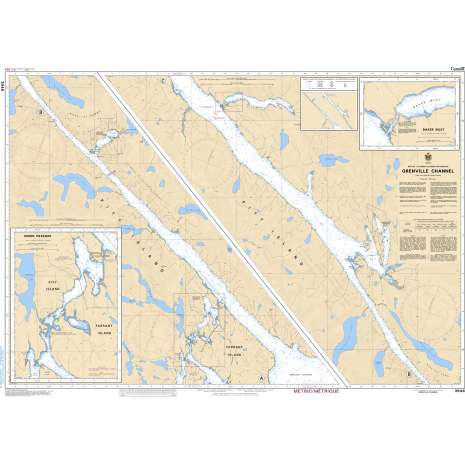 Pacific Region Charts :CHS Chart 3946: Grenville Channel