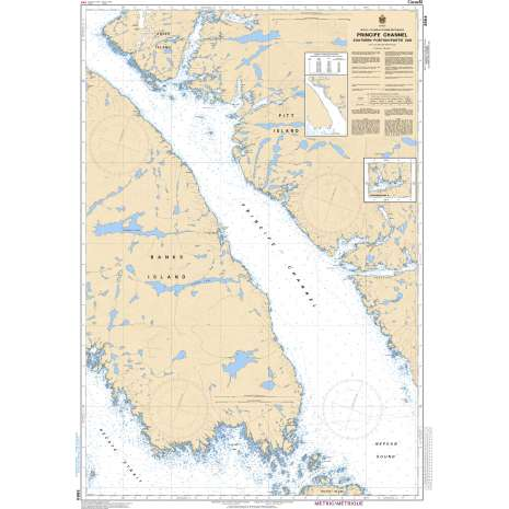 Pacific Region Charts :CHS Chart 3984: Principe Channel Southern Portion/Partie Sud