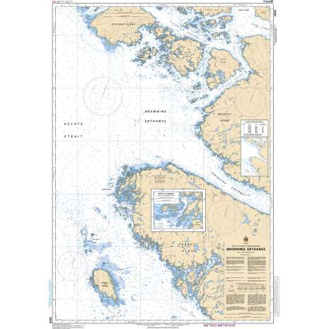 Pacific Region Charts :CHS Chart 3986: Browning Entrance