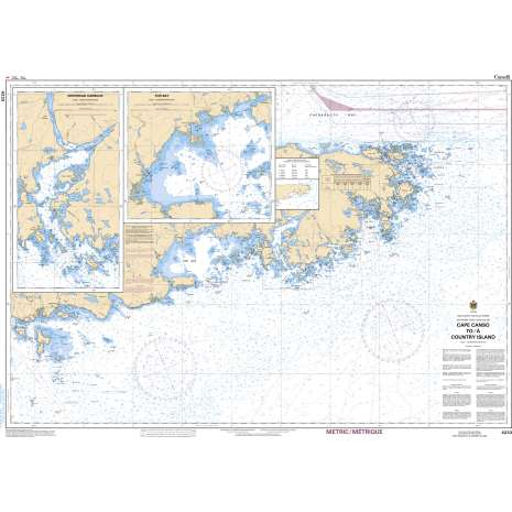 Atlantic Region Charts :CHS Chart 4233: Cape Canso to/à Country Island