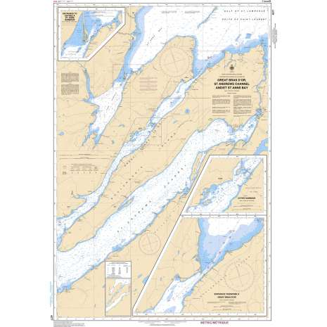 Atlantic Region Charts :CHS Chart 4277: Great Bras D'Or, St. Andrews Channel and/et St. Anns Bay