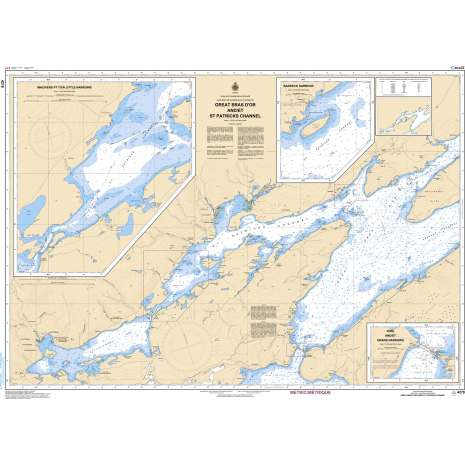 Atlantic Region Charts :CHS Chart 4278: Great Bras D'Or and/et St. Patricks Channel