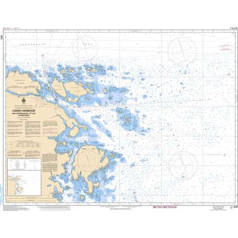 Atlantic Region Charts :CHS Chart 4281: Canso Harbour and Approaches/et les approches