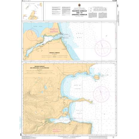 Atlantic Region Charts :CHS Chart 4365: Ingonish Harbour and/et Dingwall Harbour