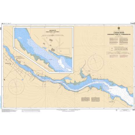 Atlantic Region Charts :CHS Chart 4391: LaHave River - Conquerall Bank to Bridgewater