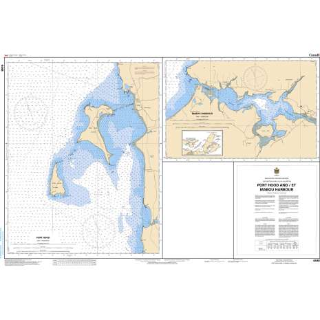 Atlantic Region Charts :CHS Chart 4448: Port Hood, Mabou Harbour and Havre Boucher