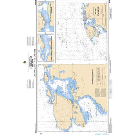 Atlantic Region Charts :CHS Chart 4529: Fogo Harbour Seal Cove and Approaches/et les approches