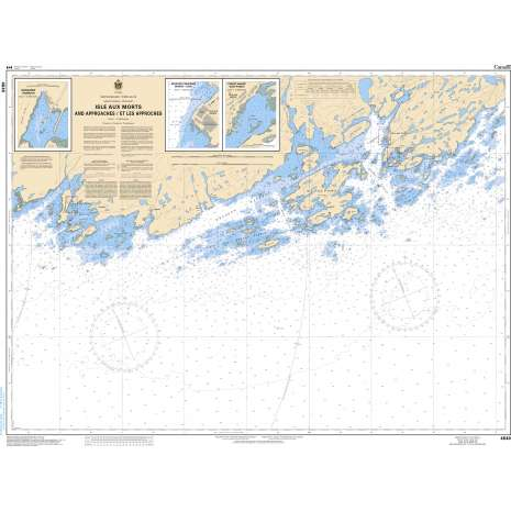 Atlantic Region Charts :CHS Chart 4640: Isle aux Morts and Approaches/et les approches