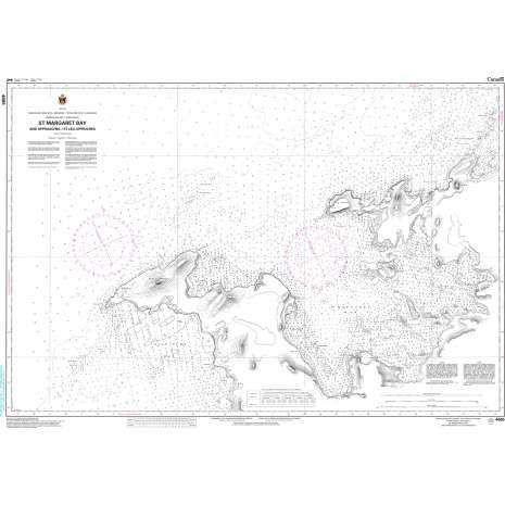 Atlantic Region Charts :CHS Chart 4665: St. Margaret Bay and Approaches/et les approches