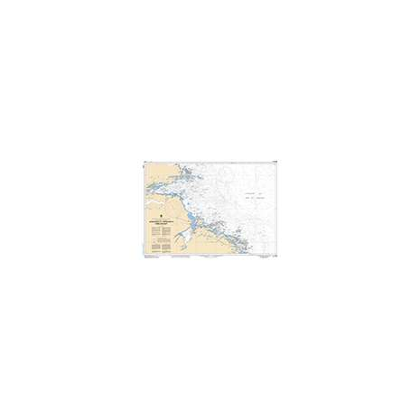 Atlantic Region Charts :CHS Chart 4732: Approaches to/Approches à Hamilton Inlet