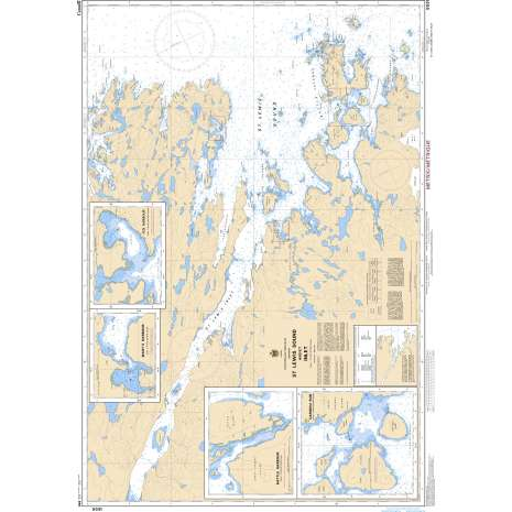 Atlantic Region Charts :CHS Chart 5031: St. Lewis Sound and/et Inlet