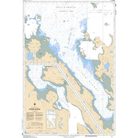 Central and Arctic Region Charts :CHS Chart 5335: Rivière George