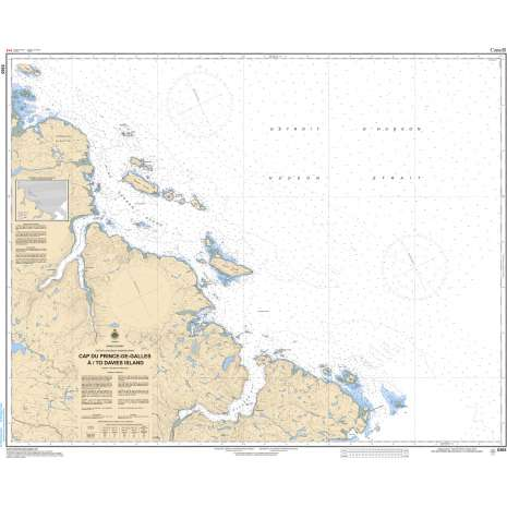 Central and Arctic Region Charts :CHS Chart 5365: Cape Prince of Wales to Davies Island