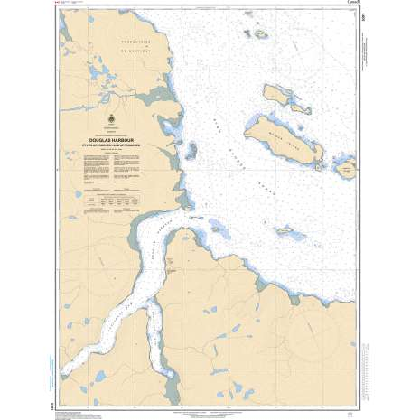 Central and Arctic Region Charts :CHS Chart 5391: Douglas Harbour and Approaches