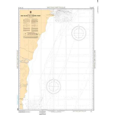 Central and Arctic Region Charts :CHS Chart 5399: Egg Island to/à Eskimo Point