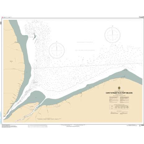 Central and Arctic Region Charts :CHS Chart 5406: Cape Tatnam to/à Port Nelson