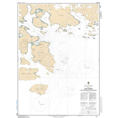 Central and Arctic Region Charts :CHS Chart 5451: Cape Dorset and Approaches
