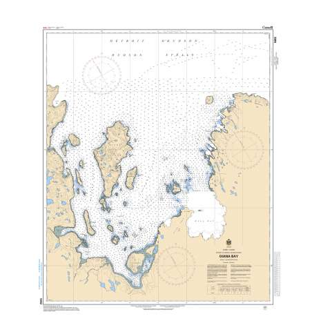 Central and Arctic Region Charts :CHS Chart 5452: Diana Bay
