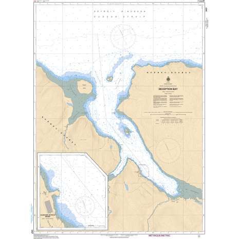 Central and Arctic Region Charts :CHS Chart 5457: Deception Bay
