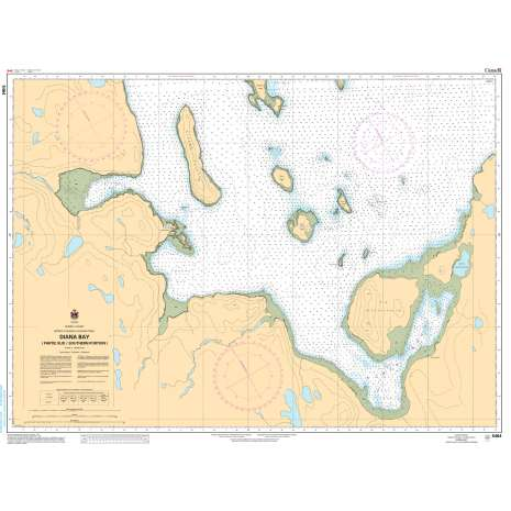 Central and Arctic Region Charts :CHS Chart 5464: Diana Bay (Partie Sud/Southern Portion)